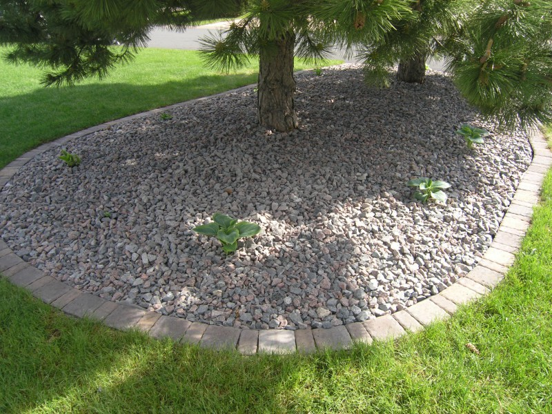 Before and after landscaping projects in st michael for Landscaping rocks buffalo ny