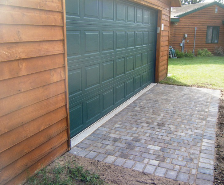 Driveway Landscaping In Annandale Minnesota And