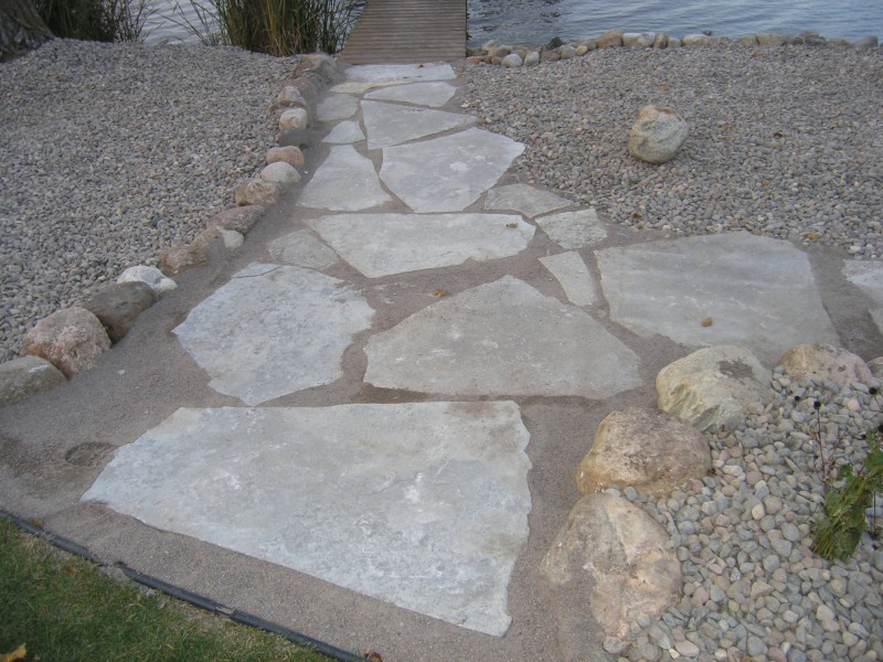 Driveway Patio And Walkway Landscaping In Annandale
