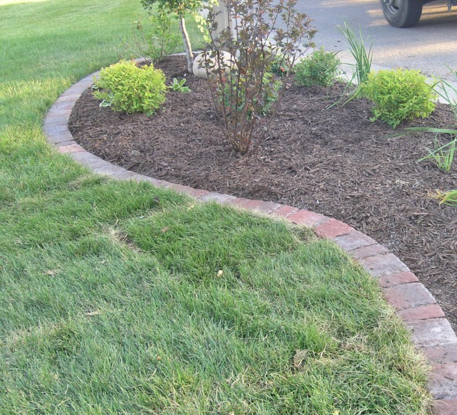 Landscape edging plymouth mn and delano minnesota for Landscape blocks