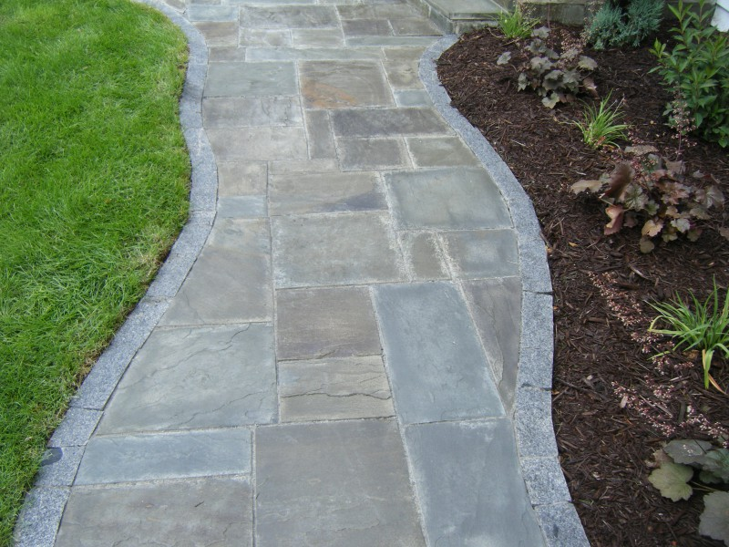 Granite Stone Edging : Landscape edging plymouth mn and delano minnesota
