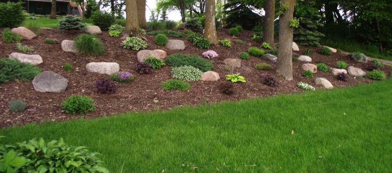 Garden Design: Garden Design with Hillside landscaping design ...