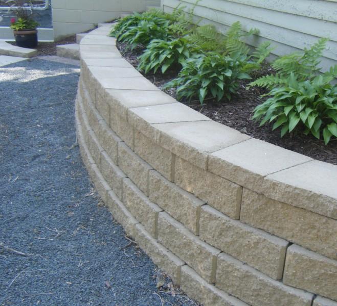 Raised Bed Retaining Wall: Minnesota Retaining Wall Company
