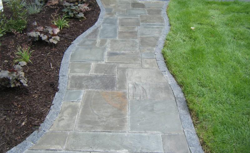 Walkways for Natural stone walkways